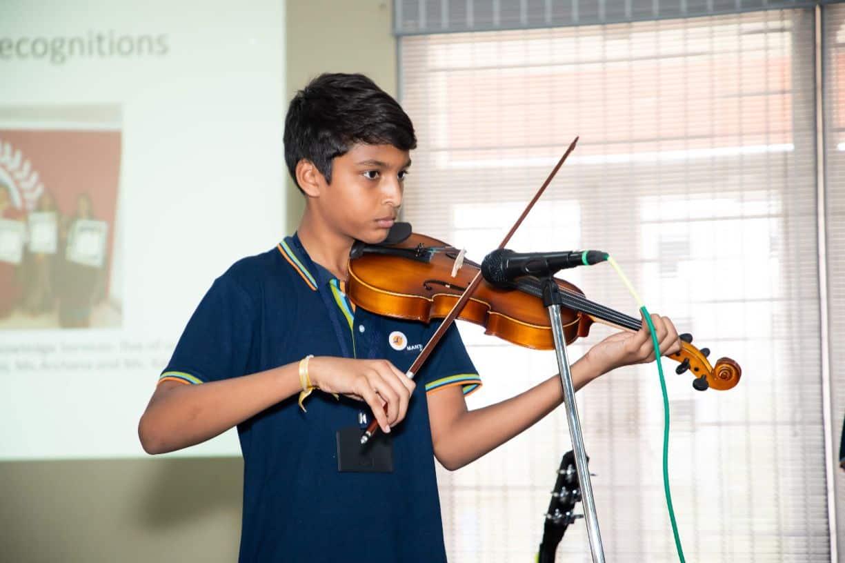 International Music Day at Samashti International School, Hyderabad