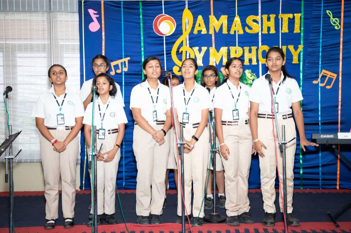 International Music Day at Samashti International School, Hyderabad