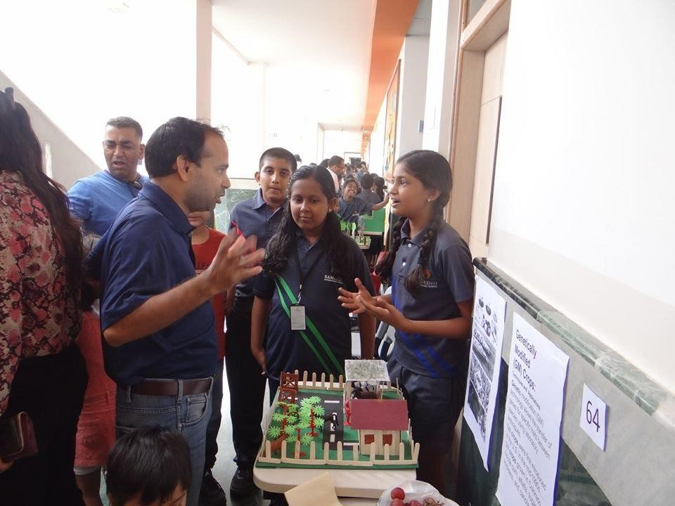 Stall about Genetically Modified Crops