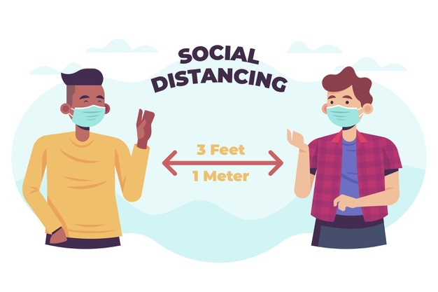 Device for Maintaining Social Distancing