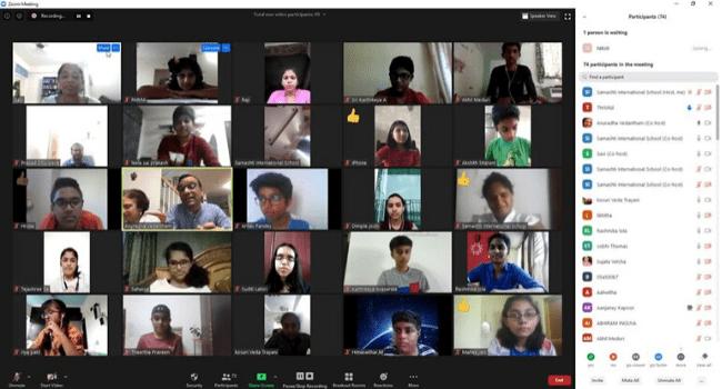 E-Learning at Samashti International School, Hyderabad