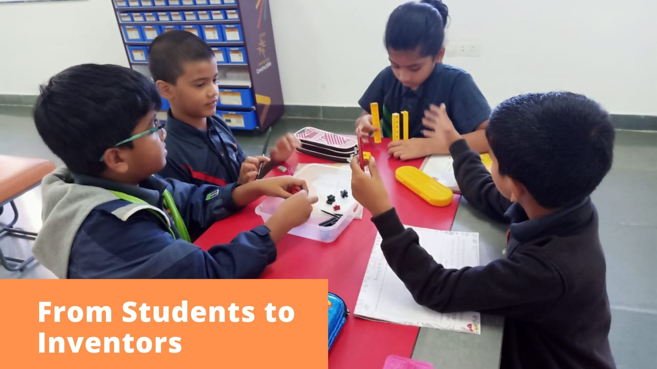 From Students to Inventors or Innnovators - Samashti STEAM Lab