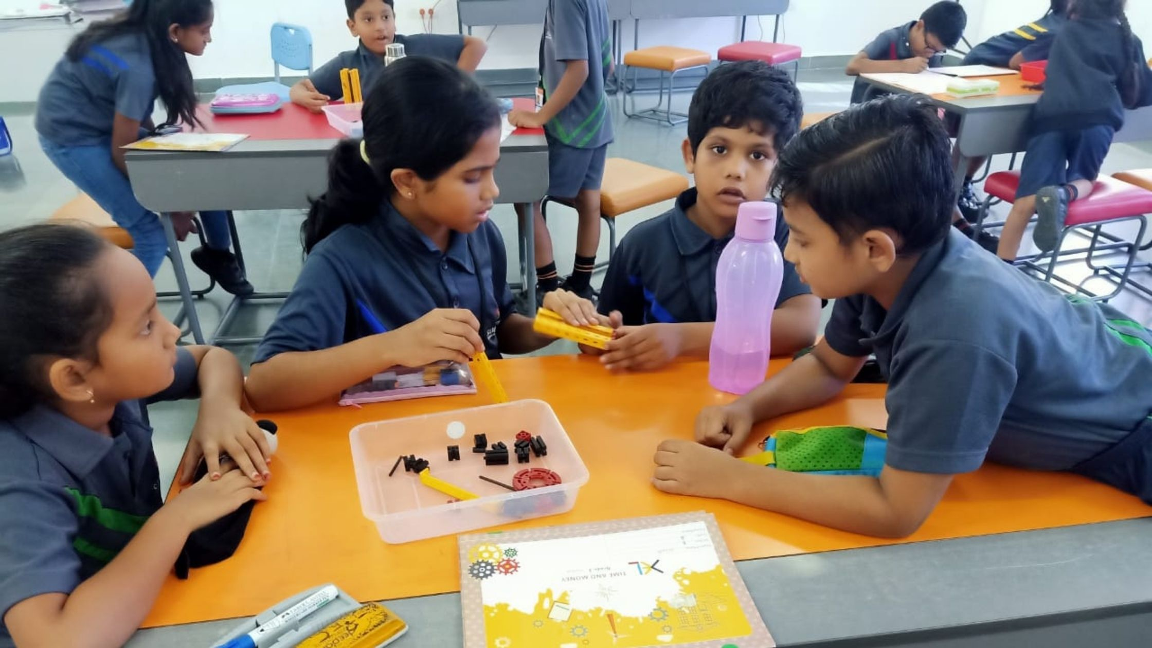 Students develop literacies, competencies, and other skills through STEAM education