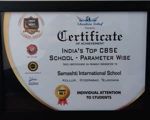 Individual Attention to Students Award